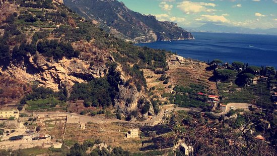 A'  Scalinatella Hostel and  Hotel: A beautiful centrally located hostel to hike all around the Amalfi coast - this was a day hike t