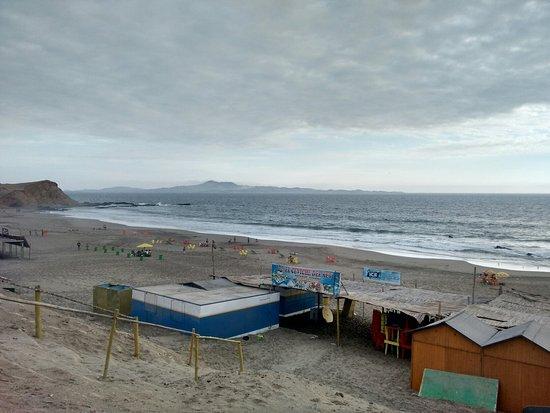 Huacho, Peru: Vistas de la playa