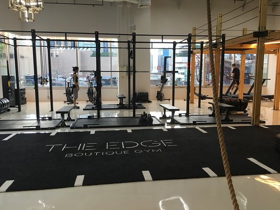 ‪The Edge Boutique Gym‬