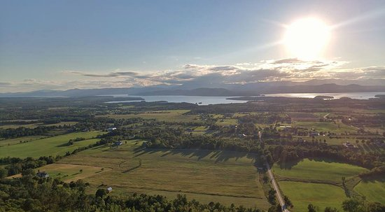 Charlotte, VT: View from atop Mt. Philo just 10 minutes away!