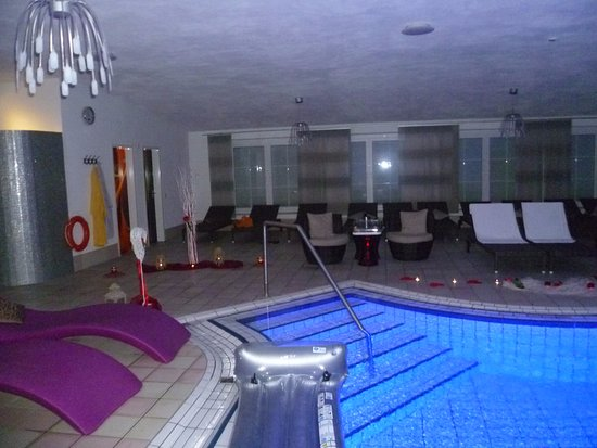 Parkhotel Reibener-Hof: Private Spa Abend