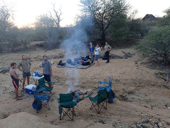 Tremisana Game Lodge: sleeping outdoor