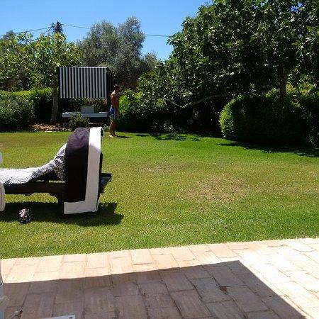 Quinta da Lua : garden