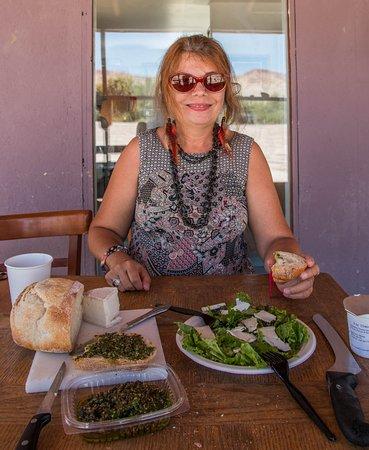 Caineville, UT: Table pour voyageuse de passage
