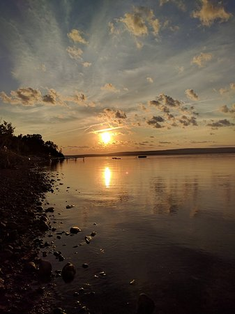 Big Bras d'Or, Canada: Another Glorious Sunset on the Beach