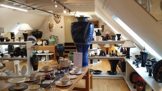 Ballyferriter, Irland: Louis Mulcahy Pottery Cafe