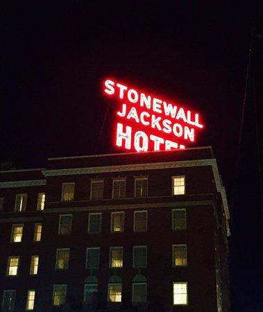 Staunton, VA: The beautiful exterior and historic sign.