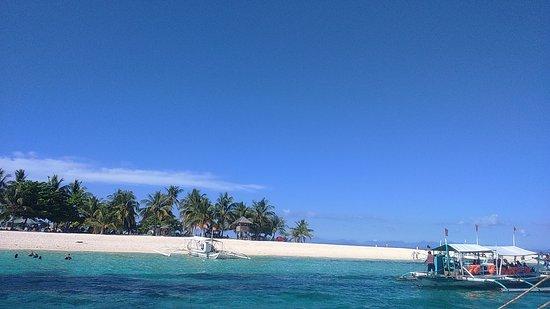 Palompon, Filipinas: The beautiful sandbar of Kalanggaman Island.