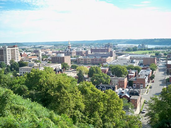 Dubuque, IA: View from the top