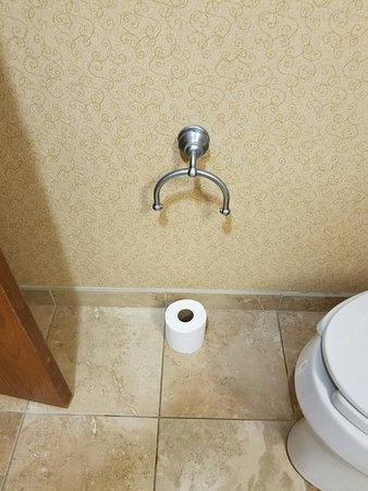Hampton Inn Denver - Southwest/Lakewood: Hillbilly toilet paper holder