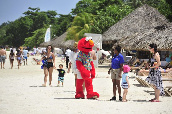 elmo on the beach picture of beaches negril resort spa negril
