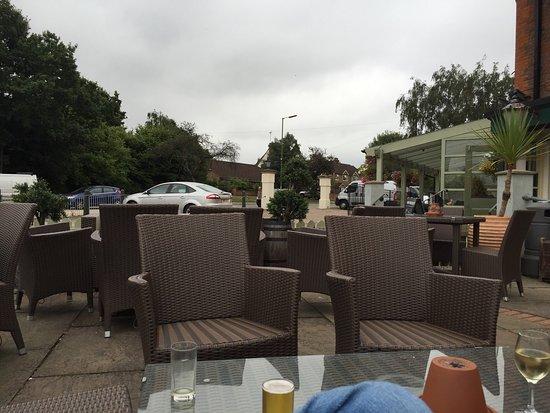 the king william iv pub nice comfy garden furniture