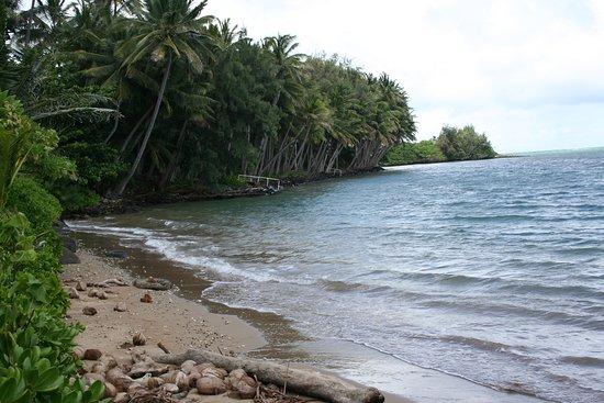 Kaunakakai, Hawái: small beach
