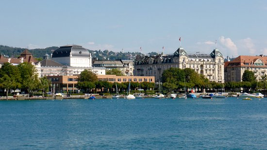 View Of Opera House And Hotel Ambassador From The Lake Picture Of
