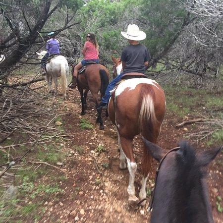Mayan Dude Ranch: Horseback riding