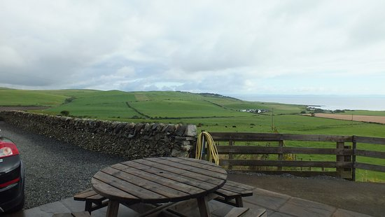 Drummore, UK: the view from the patio