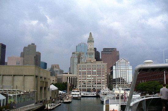 Boston(Ferry-Provincetown).Tres belle traversée en bâteau pour se rendre a Cape-Cod