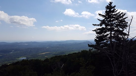 Ludlow, VT: View from the top