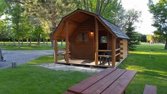 Camp Three Forks Cabin At
