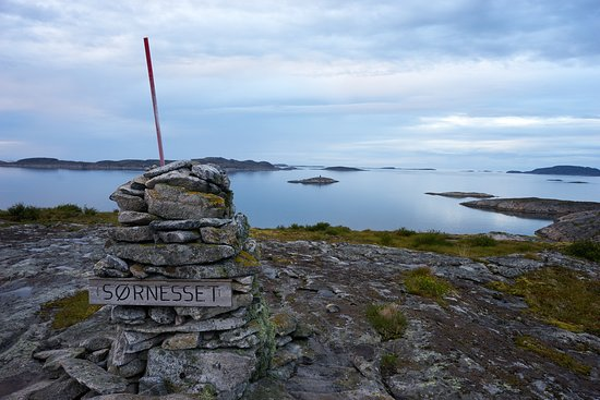 Aafjord, Norway: One of the easier hill tops