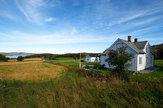 Aafjord, Norway: The house looking north