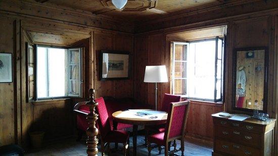 Hotel Palazzo Salis: Ein Eckzimmer mit Blick auf den Garten
