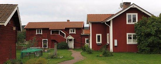 Siljansnas, Suède : Klassisk gård
