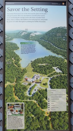 Jordan Pond House: A little info about the pond