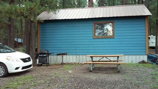 Sportsman's Campground and Mountain Cabins: Hondo cabin