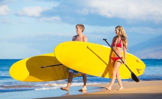 Napili-Honokowai, Hawaï: Stand Up Paddle board Rental