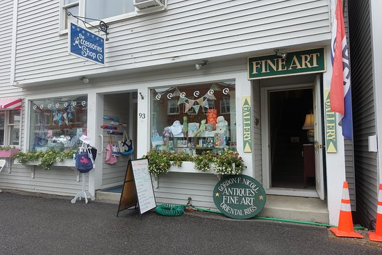 In the quaint town of Damariscotta, where you will want to shop....