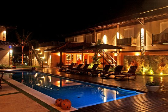 Villa Rasa: Night pool