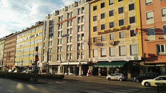 novum hotel am hauptbahnhof mГјnchen