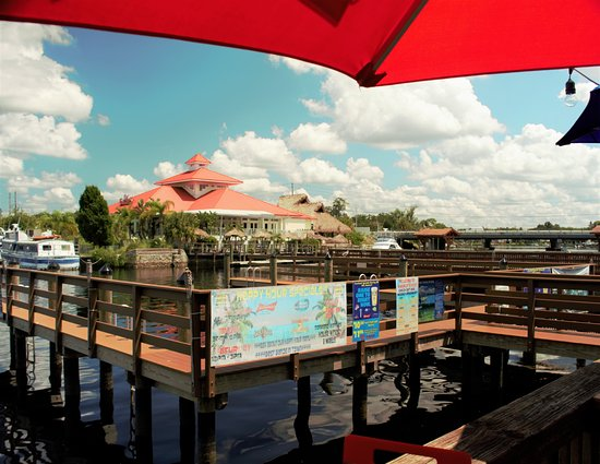 Whiskey River Sports Bar & Grill: The view from the deck at Whiskey River
