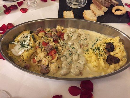Zürich, Sveits: Quartetto di pasta
