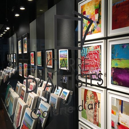 Interior Of Carr D 39 Artistes Art Gallery In Boca Raton Florida Picture Of Carre D 39 Artistes