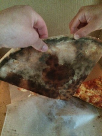 Dryden, Nova York: Nasty burnt pizza