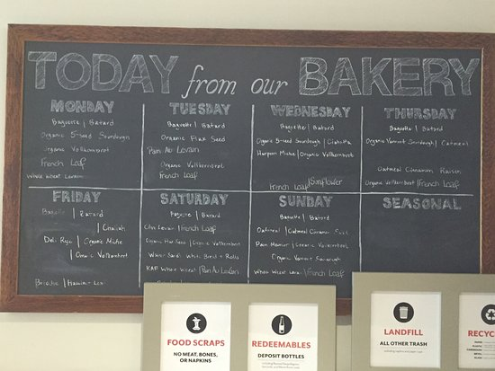 Norwich, VT: Daily breads.