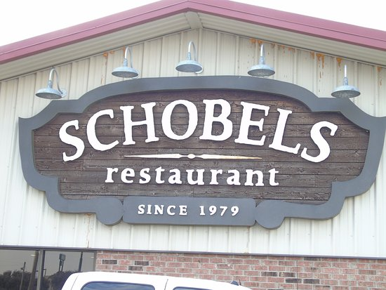 Columbus, TX: Here is the sign on the side of the restaurant that you can see from I-10.