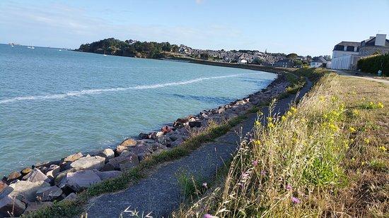Saint-Jacut-de-la-Mer, Francia: le buveur d elune grande laréee