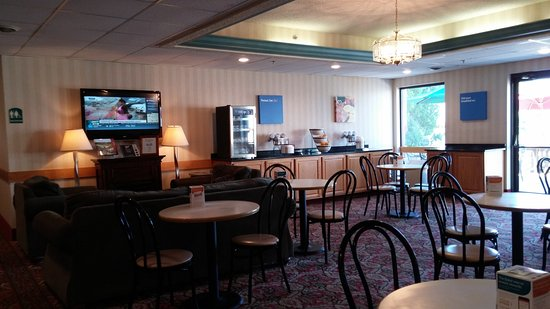 Mansfield, PA: Breakfast Room
