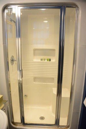 Stone Soup Inn: Blue Room Steam Shower Bathroom