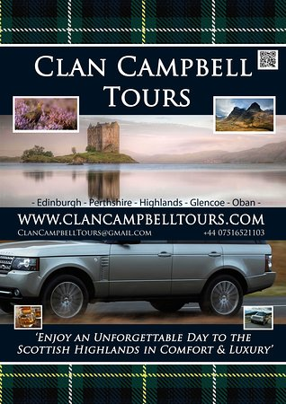 ‪Clan Campbell Tours Scotland‬