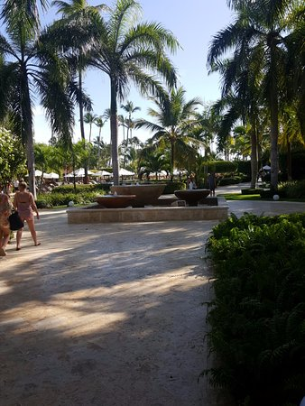 Dreams Palm Beach Punta Cana Front Walking Towards The Pool