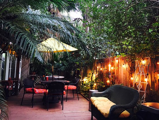 Genial Madame Isabelleu0027s House In New Orleans: The Backyard And Pre Keg  Preparations.