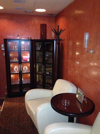 Adria Hotel Prague: Cigar room