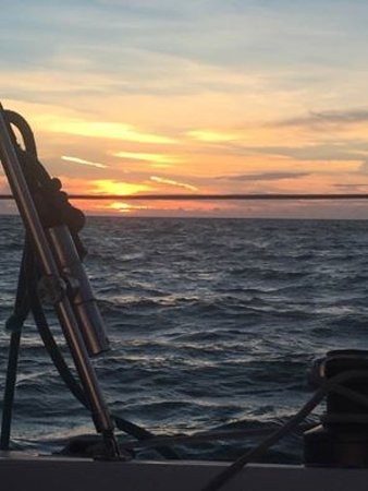 Anna Maria Sailing Adventures: Sunset in the Gulf