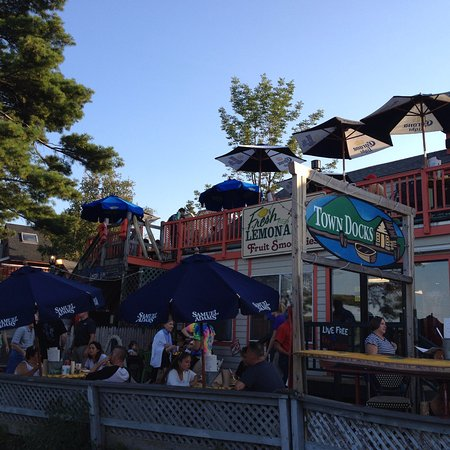 Town Docks Restaurant: View from the Boardwalk
