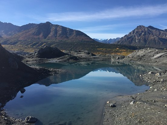 Glacier View, AK: Nearby at Matanuska Glacier