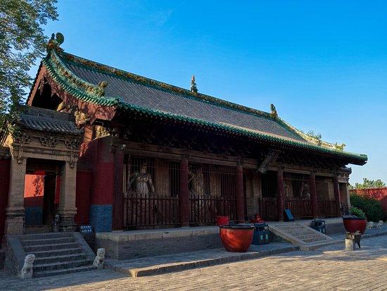 Pingyao County, China: Templo Shuanglin